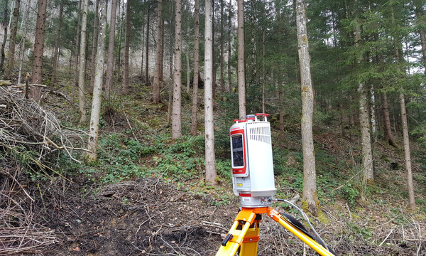 Field work in Vorarlberg, March 2016