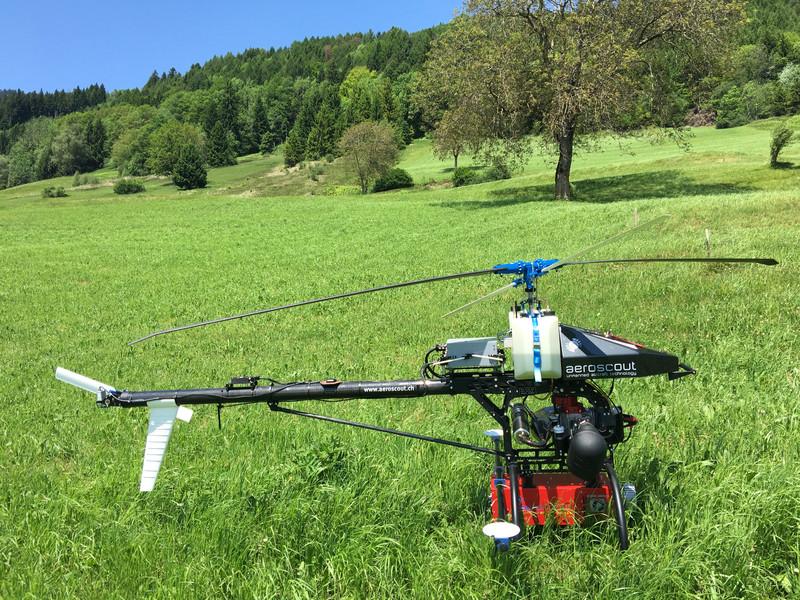 BIOSLIDE: UAV Lidar acquisition